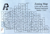 Cover, Zoning Map 2012 January