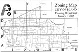 Cover, Zoning Map, January 1, 2005